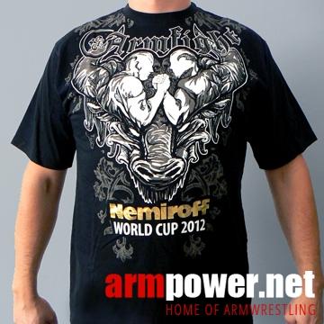 Koszulka NEMIROFF 2012 marki ARMFIGHT - czarna