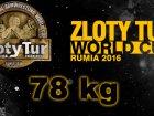 Złoty Tur – kat. 78 kg.