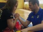 Piłkarze Arki Gdynia przy stole!