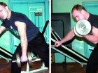 Trening Pawła Hłopkina