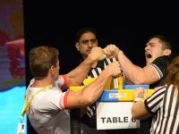 WAF WORLD ARMWRESTLING CHAMPIONSCHIP 2015 - WYNIKI - 29.09.