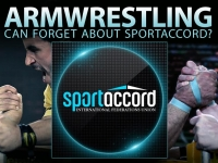 Armwrestling can forget about