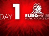 Wyniki pierwszego dnia Mistrzostw Europy