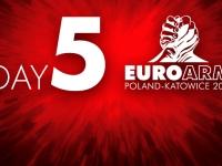 Mistrzostwa Europy – wyniki dzień 5.