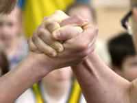 Importance of hand & wrist in armwrestling