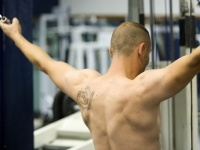Do you forgo training, or on the contrary?