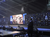 Worlds 2013 - how to build the venue in 2 minutes