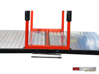 Automatic armwretling table platform