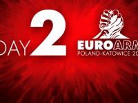 Wyniki drugiego dnia Mistrzostw Europy