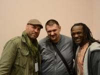 Crazy George, Mariusz Grochowski i Jason Statham na ACAC
