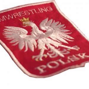"""Naszywka """"Armwrestling Polska"""""""