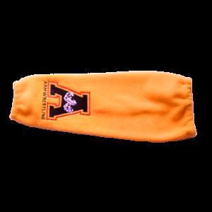 Rękaw rozgrzewający – Haft A, kolor żółty