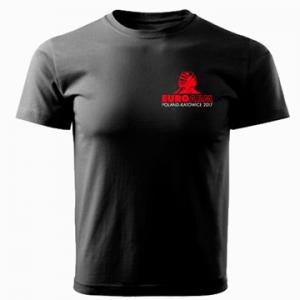 Koszulka EUROARM POLAND 2017  unisex - czarna