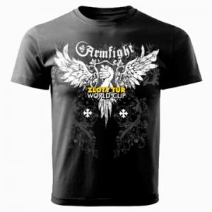 Koszulka ZLOTY TUR  unisex - czarna