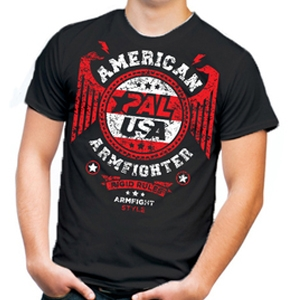 Koszulka  AMERICAN ARMFIGHTER unisex – czarna.