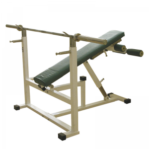 Decline bench machine