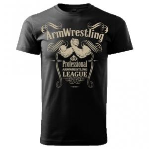"Koszulka ARMWRESTLING  ""PAL"" unisex - czarna"