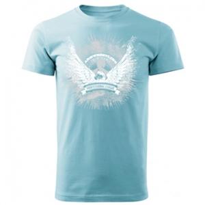 Koszulka ARMWRESTLING FIGHTER PAL  unisex - błekitna
