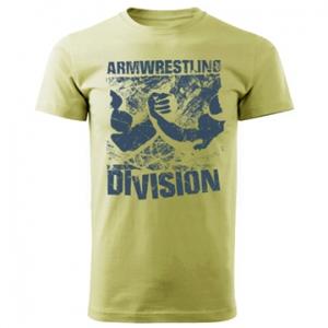 Koszulka ARMWRESTLING  DIVISION unisex - zielona