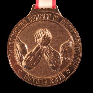 MEDAL - X Mistrzostwa Polski w Amwrestlingu 2010