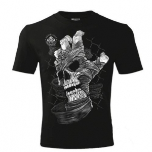 SKULL HAND ARMFIGHT T-Shirt (unisex) - czarna