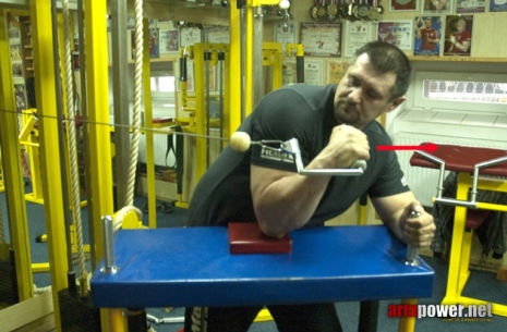 IGOR MAZURENKO - TRAINING FOR THE BEGINNERS # 1 # Siłowanie na ręce # Armwrestling # Armpower.net