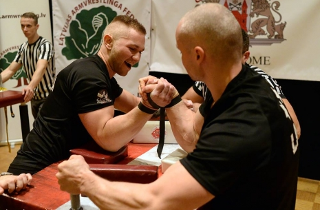 "Kaspars Gravis: ""I'll keep moving forward!"" # Siłowanie na ręce # Armwrestling # Armpower.net"
