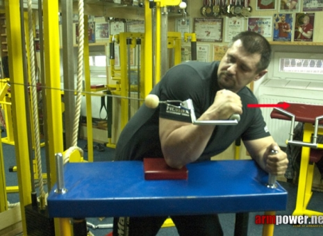 IGOR MAZURENKO - TRAINING FOR THE BEGINNERS # 2 # Siłowanie na ręce # Armwrestling # Armpower.net