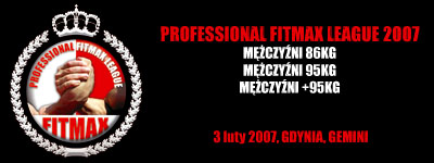 Professional Fitmax League 2008