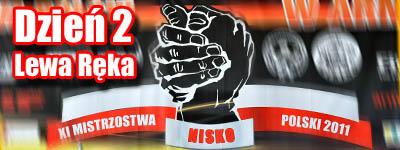 Mistrzostwa Polski 2011 - lewa reka