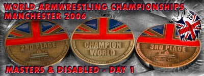 World Armwrestling Championships 2006 - Day 1