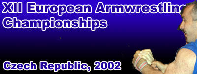 XII  European Armwrestling Championships