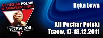 XII Puchar Polski w Armwrestlingu - Ręka lewa