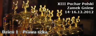 XIII Puchar Polski 2012 - Prawa ręka