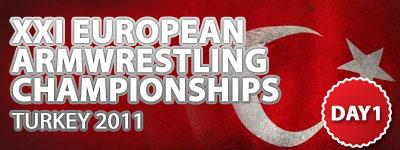 Europeans 2011 - Day 1