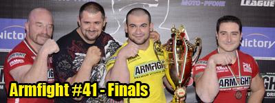 ARMFIGHT #41 - Finals
