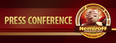 Nemiroff 2012 - Press Conference