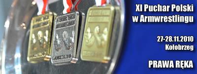 XI Puchar Polski - Prawa ręka