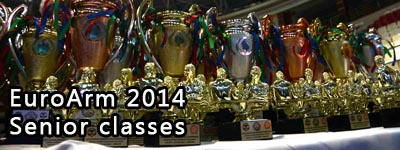 European Armwrestling Championships 2014 - seniors
