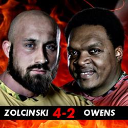 Zolcinski vs Owens
