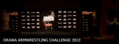 Orawa Armwrestling Challenge 2012