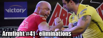 Armfight #41 - Eliminations