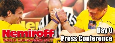 Nemiroff  2011 - Press Conference
