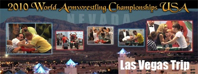 Worlds 2010 - Las Vegas Trip