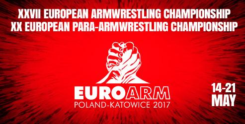 euroarm2017 - european armwrestling championship 2017
