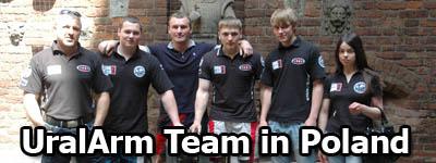 UralArm team in Poland