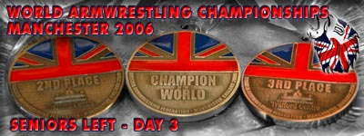 World Armwrestling Championships 2006 - Day 3