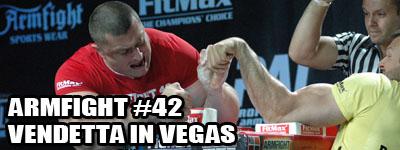 Armfight #42 - Vendetta in Vegas