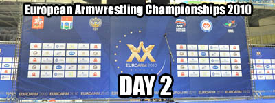 European Armwrestling Championships - Day 2