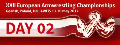 XXII European Armwrestling Championships - Day 2